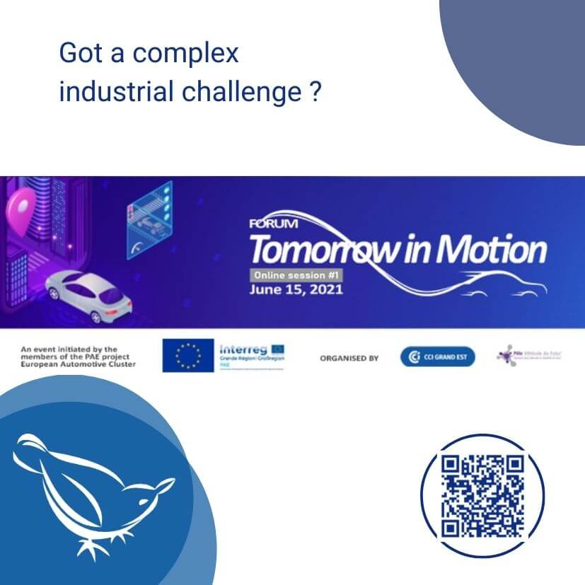 SICTA invitation for 2B2 e-meetings at Tomorrow in Motion forum