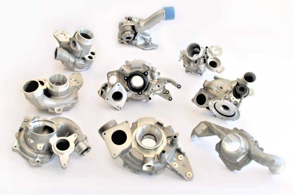 gamme de pièces SICTA fonderie aluminium gravité