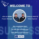 Cyrille PIOTTE et Léo LE BERRE intègrent l'équipe SICTA
