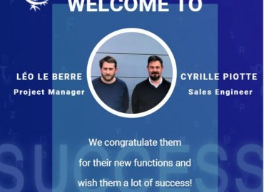 Cyrille PIOTTE & Léo LE BERRE join SICTA's team